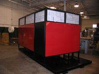 Fully Enclosed Fencing for Robotic Welding