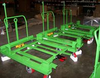 Material Handling Cart for Parts Bins Assembly
