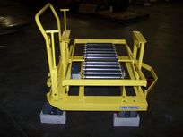 Material Handling Cart Roller and Caster Assembly